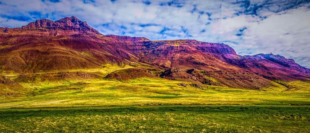 冰岛风采,彩色画布_图1-24