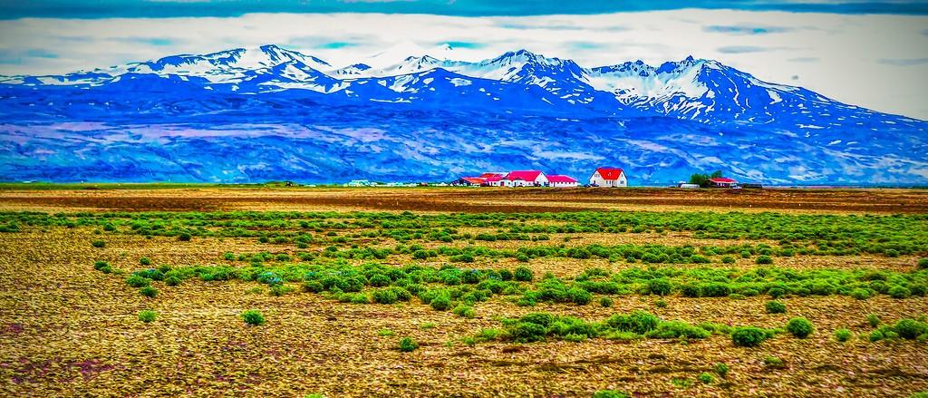 冰岛风采,彩色画布_图1-27