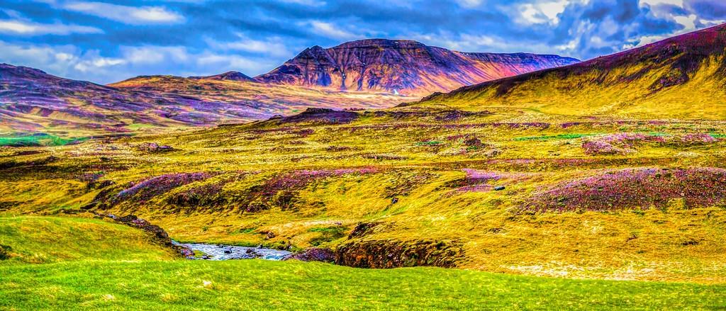 冰岛风采,彩色画布_图1-30