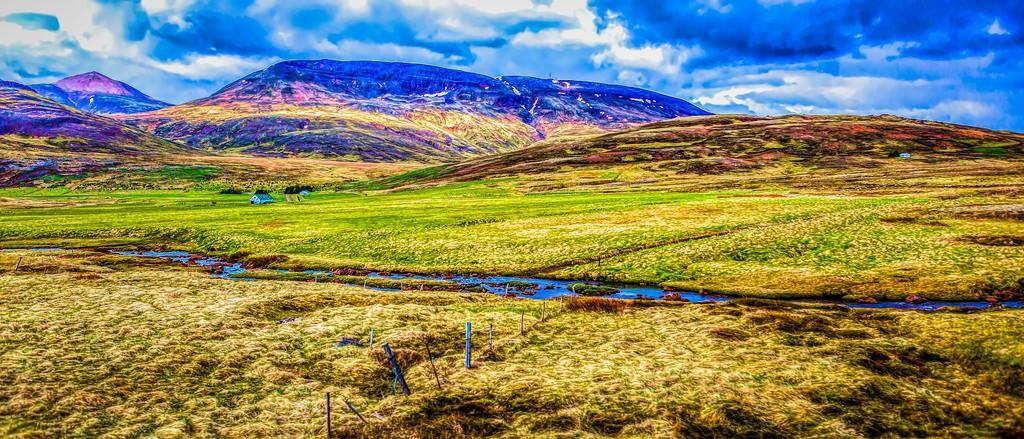 冰岛风采,彩色画布_图1-31