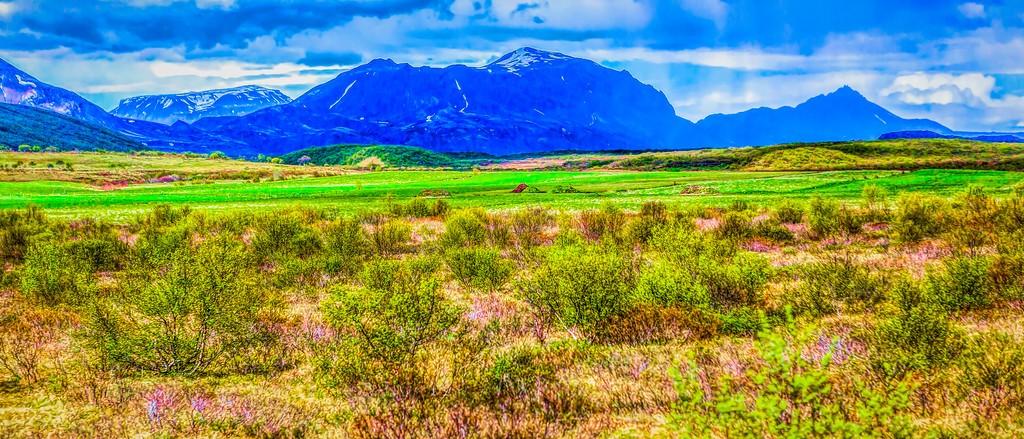 冰岛风采,彩色画布_图1-32