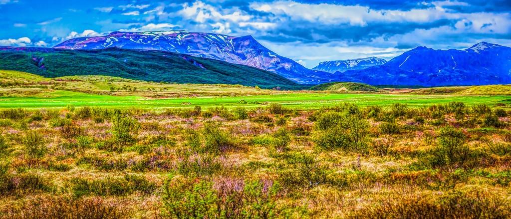 冰岛风采,彩色画布_图1-35