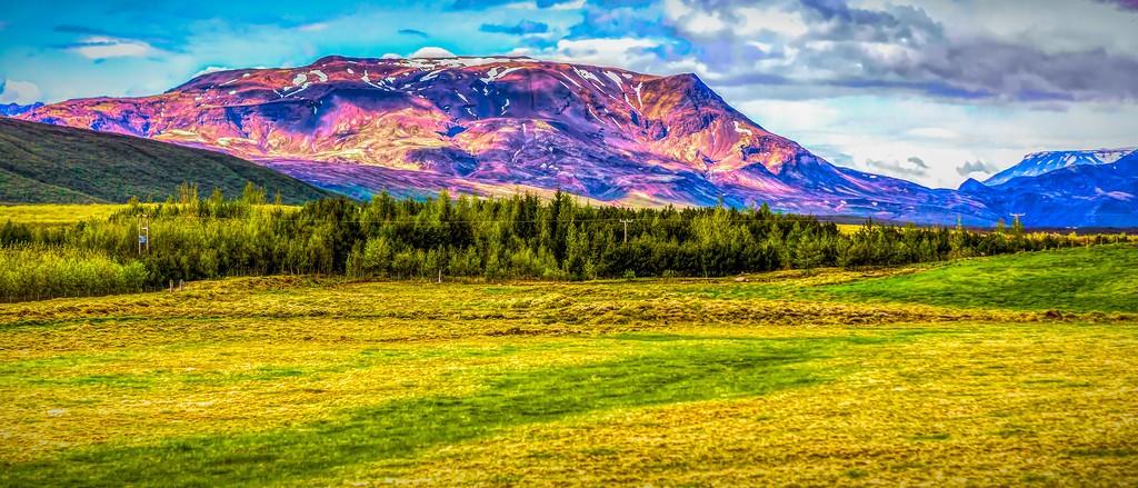 冰岛风采,彩色画布_图1-33