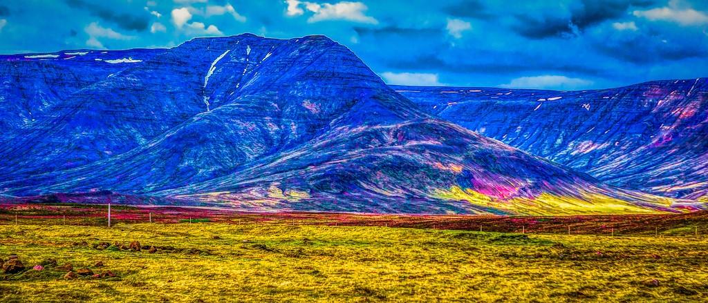 冰岛风采,彩色画布_图1-38