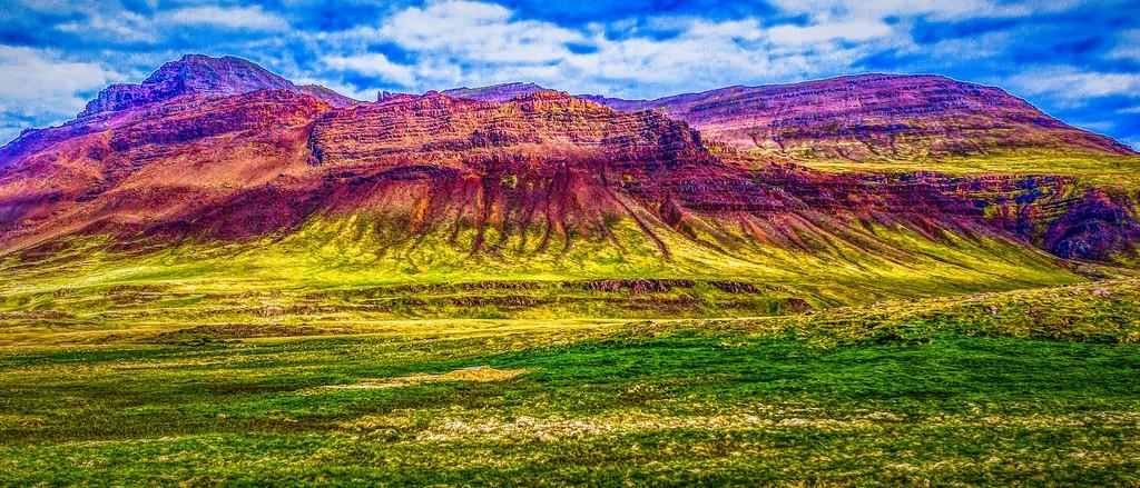 冰岛风采,彩色画布_图1-37