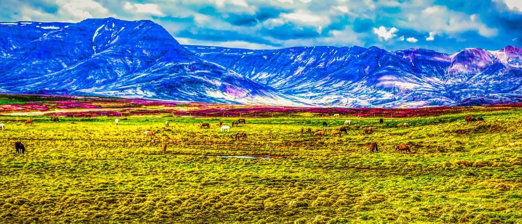冰岛风采,彩色画布_图1-34