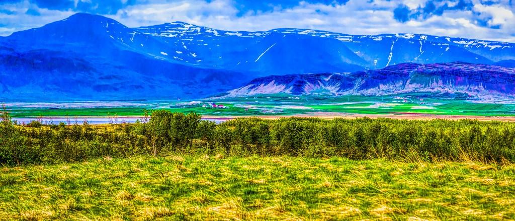 冰岛风采,彩色画布_图1-40