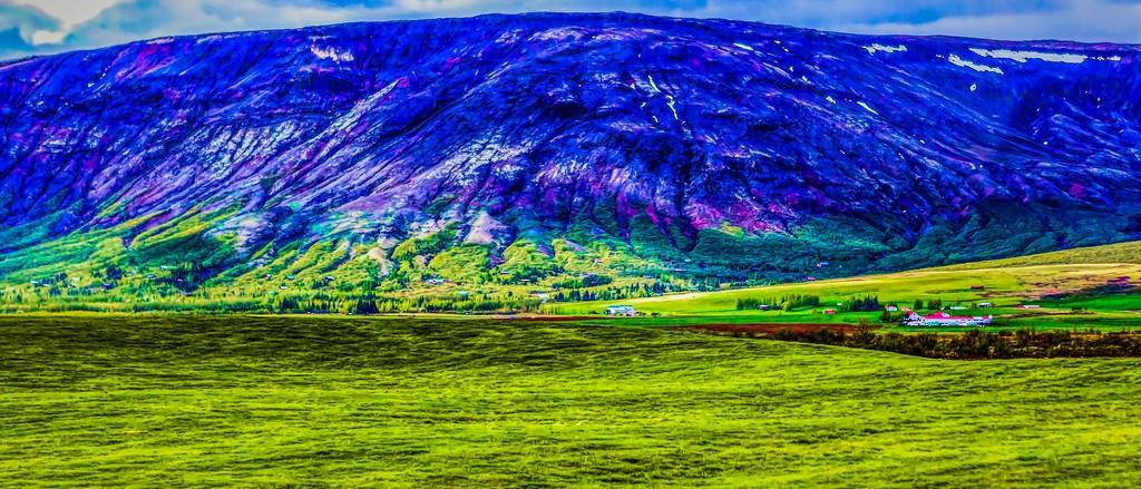 冰岛风采,彩色画布_图1-39