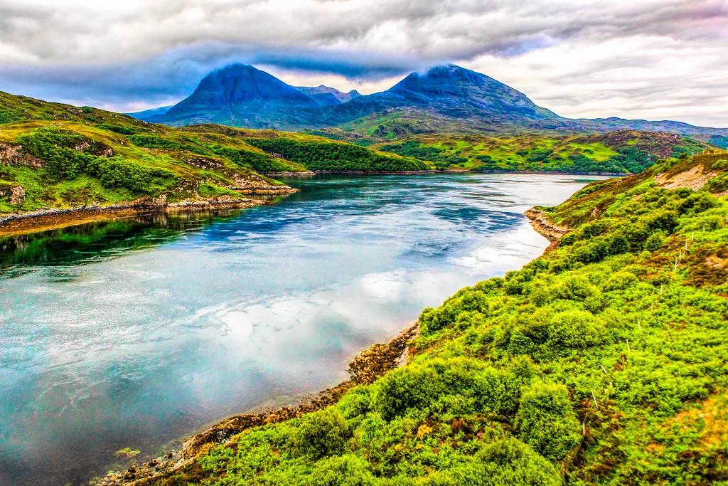 苏格兰美景,大地线条_图1-39