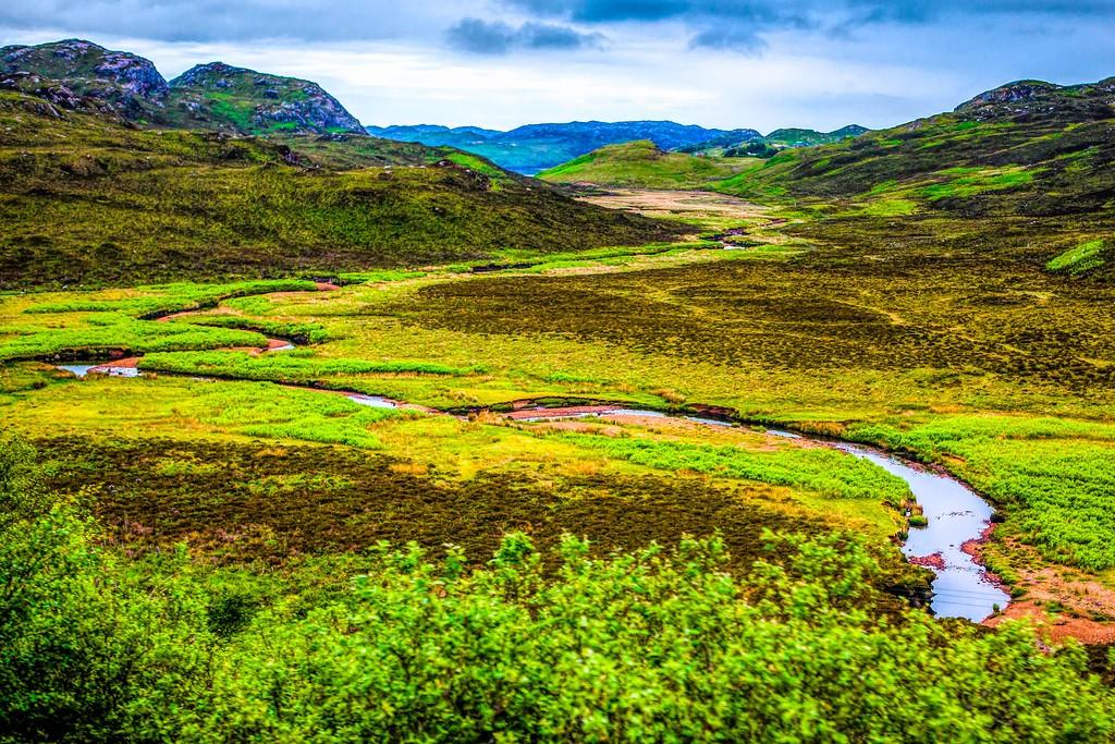 苏格兰美景,大地线条_图1-40