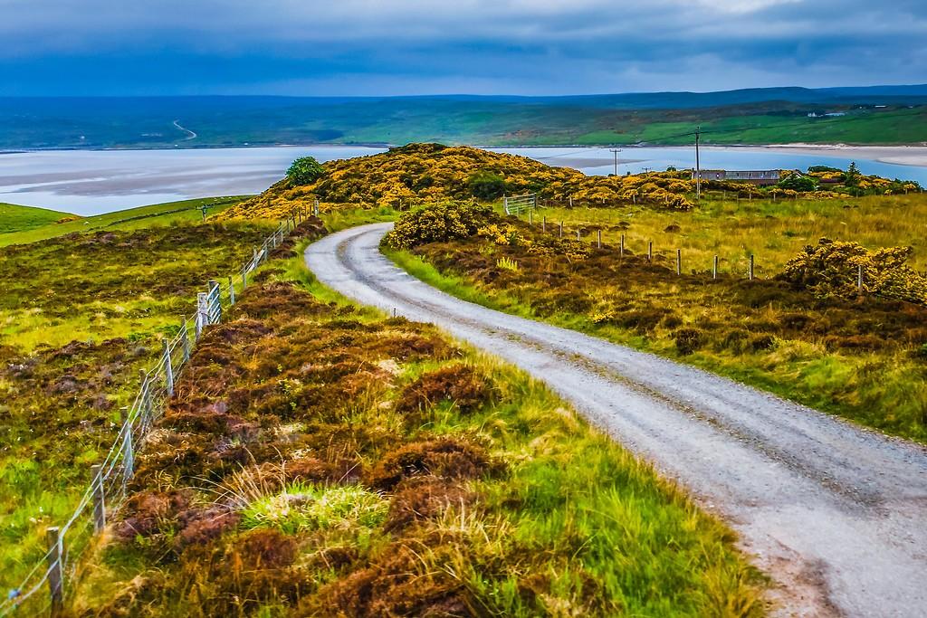 苏格兰美景,大地线条_图1-37
