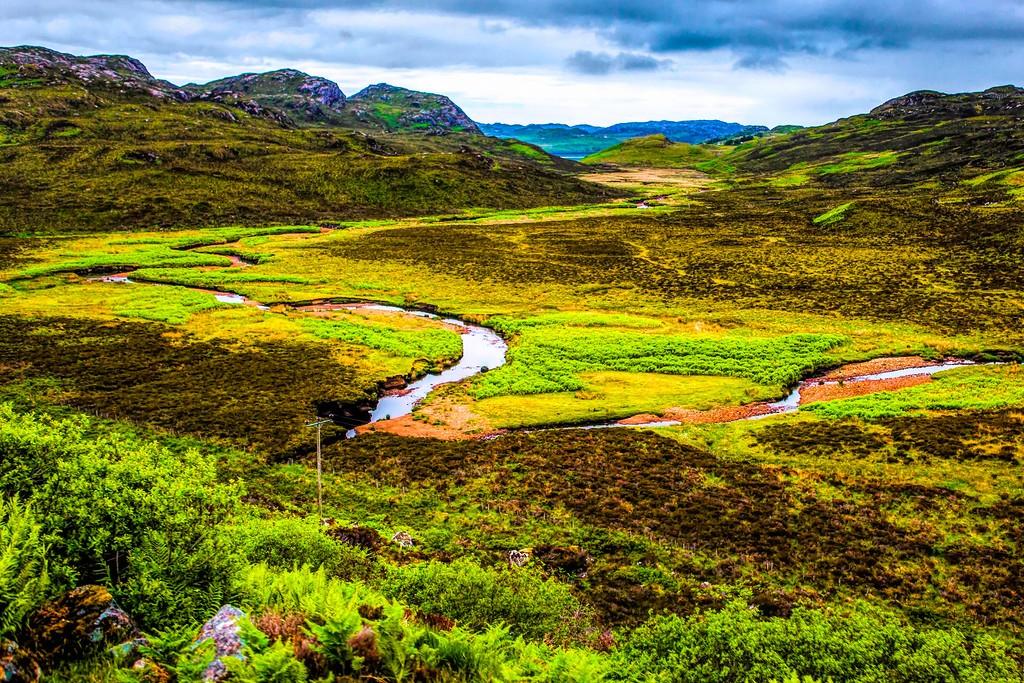 苏格兰美景,大地线条_图1-32