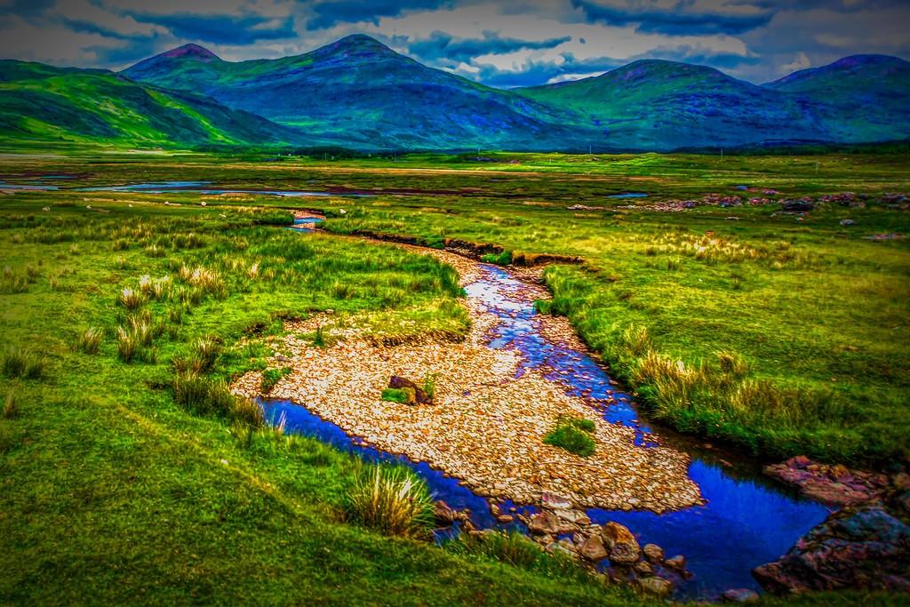 苏格兰美景,大地线条_图1-34