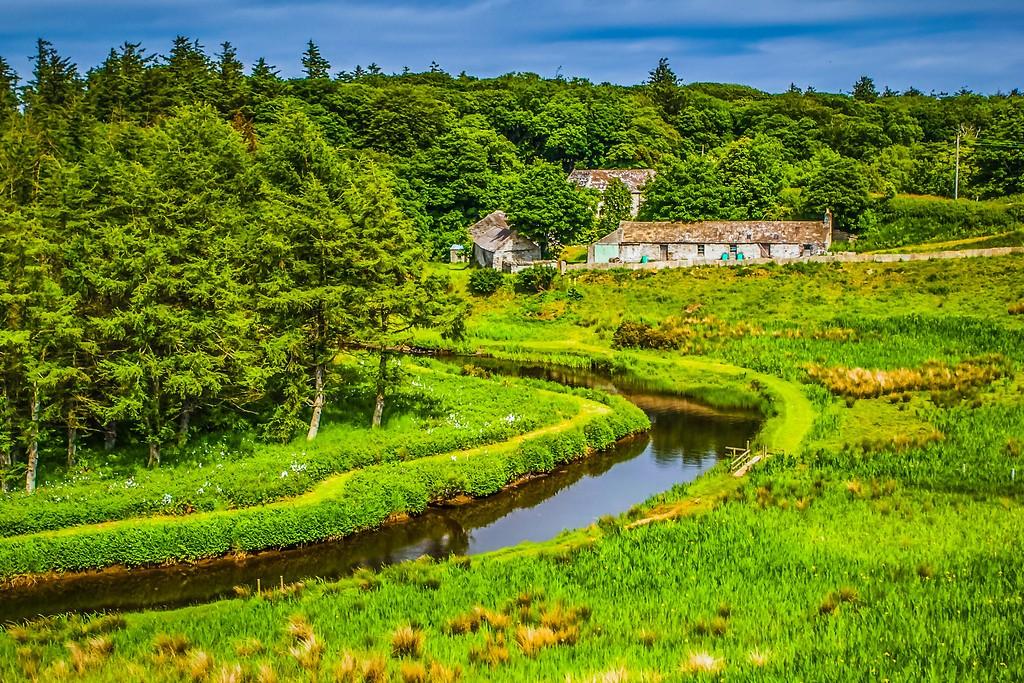 苏格兰美景,大地线条_图1-29