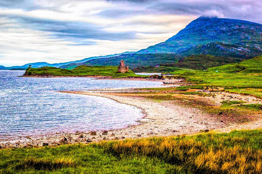苏格兰美景,大地线条_图1-30
