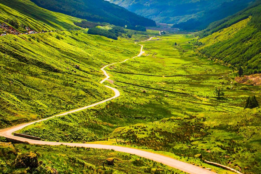 苏格兰美景,大地线条_图1-16