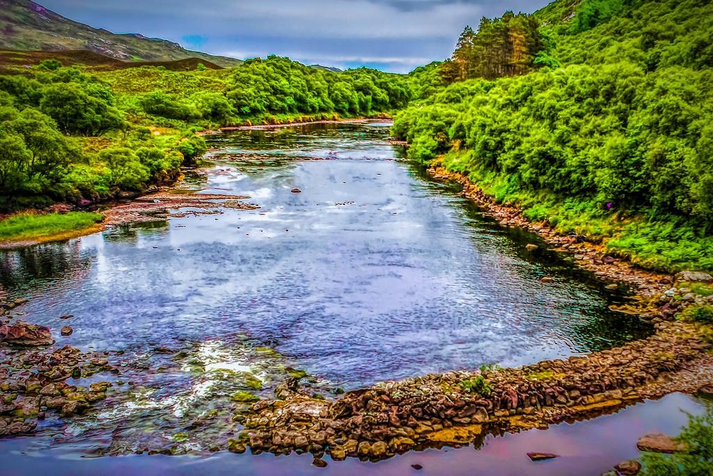 苏格兰美景,大地线条_图1-8