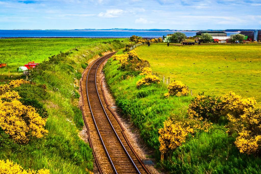 苏格兰美景,大地线条_图1-5