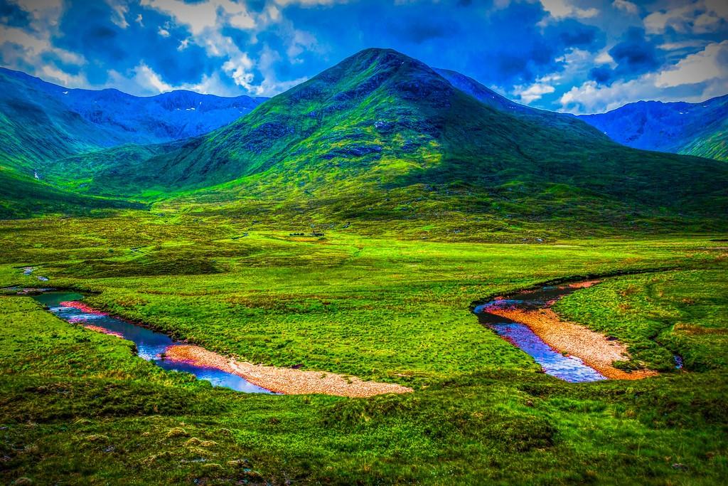 苏格兰美景,大地线条_图1-1