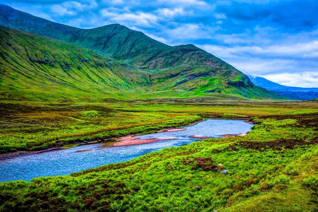 苏格兰美景,大地线条_图1-3