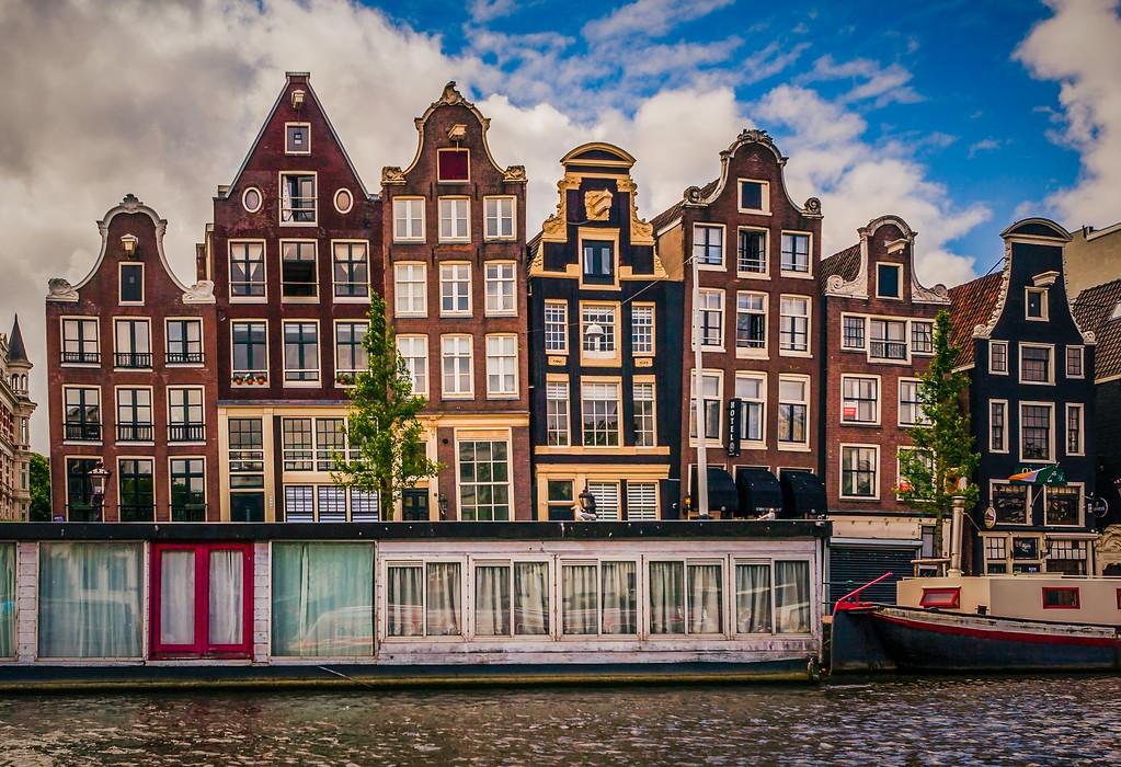 荷兰阿姆斯特丹,城市速写_图1-35
