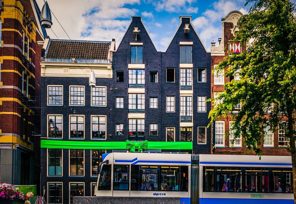荷兰阿姆斯特丹,城市速写_图1-29
