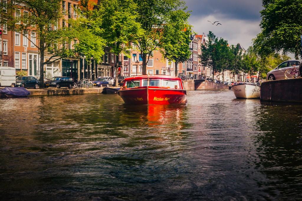 荷兰阿姆斯特丹,城市速写_图1-25