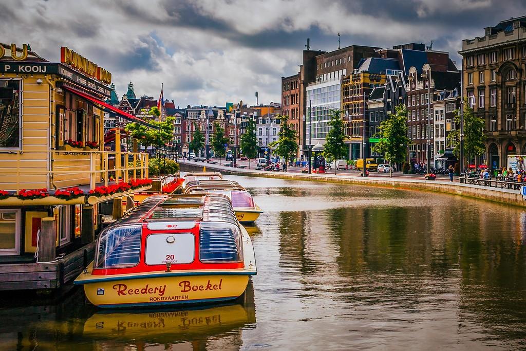 荷兰阿姆斯特丹,城市速写_图1-26