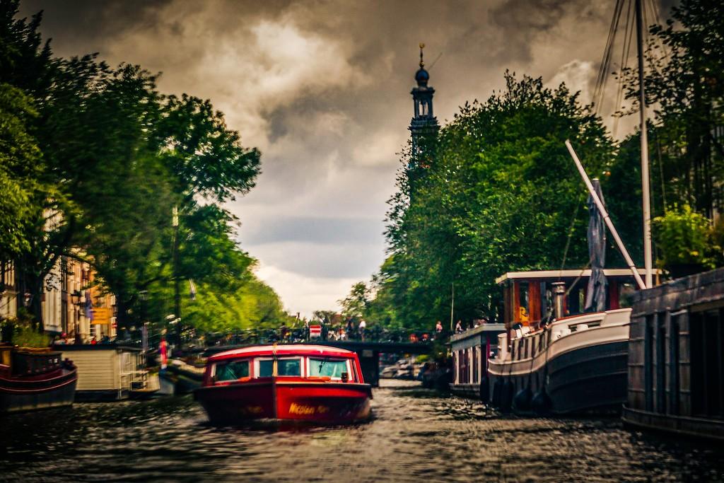 荷兰阿姆斯特丹,城市速写_图1-27