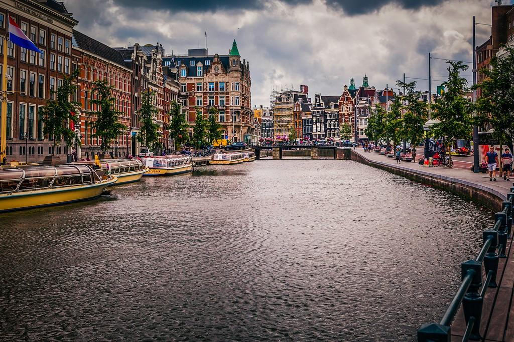 荷兰阿姆斯特丹,城市速写_图1-23