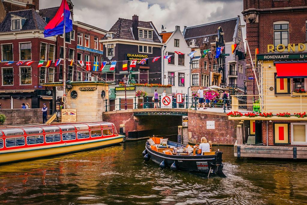 荷兰阿姆斯特丹,城市速写_图1-2
