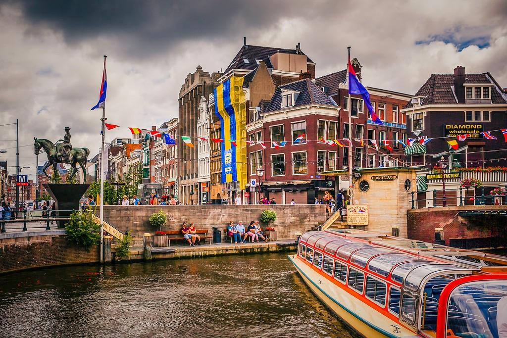 荷兰阿姆斯特丹,城市速写_图1-1
