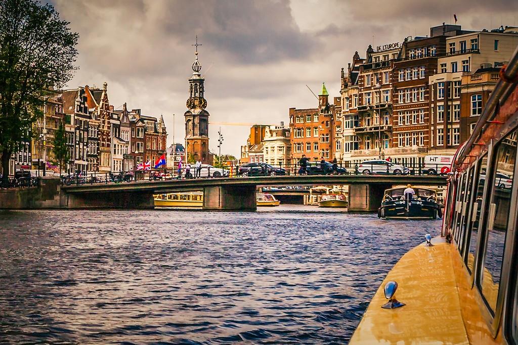 荷兰阿姆斯特丹,城市速写_图1-3