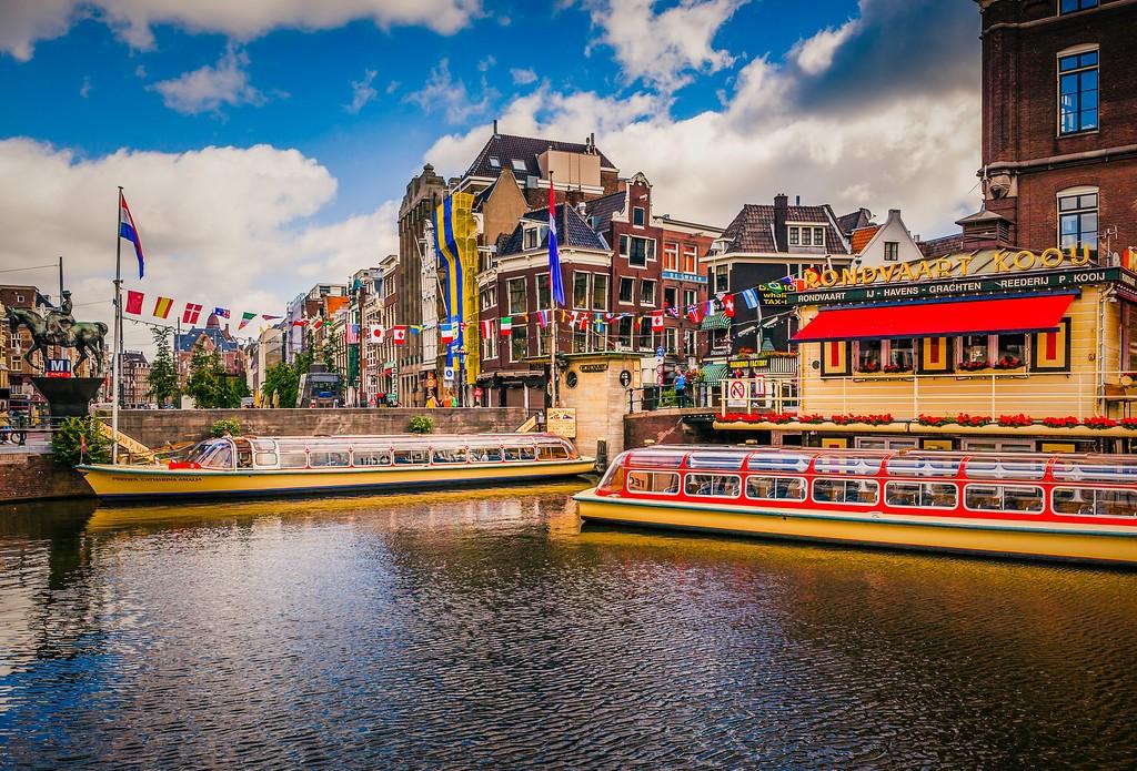 荷兰阿姆斯特丹,城市速写_图1-4