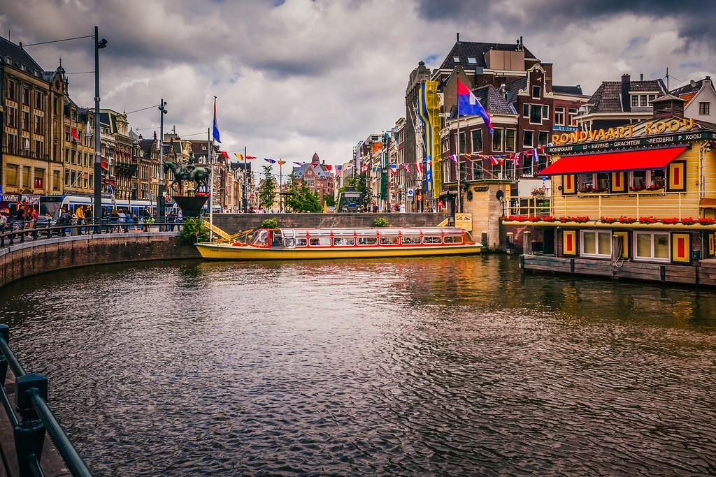 荷兰阿姆斯特丹,城市速写_图1-7