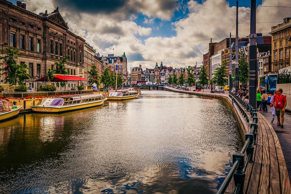 荷兰阿姆斯特丹,城市速写_图1-9