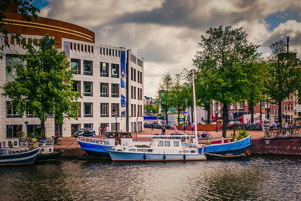 荷兰阿姆斯特丹,城市速写_图1-10