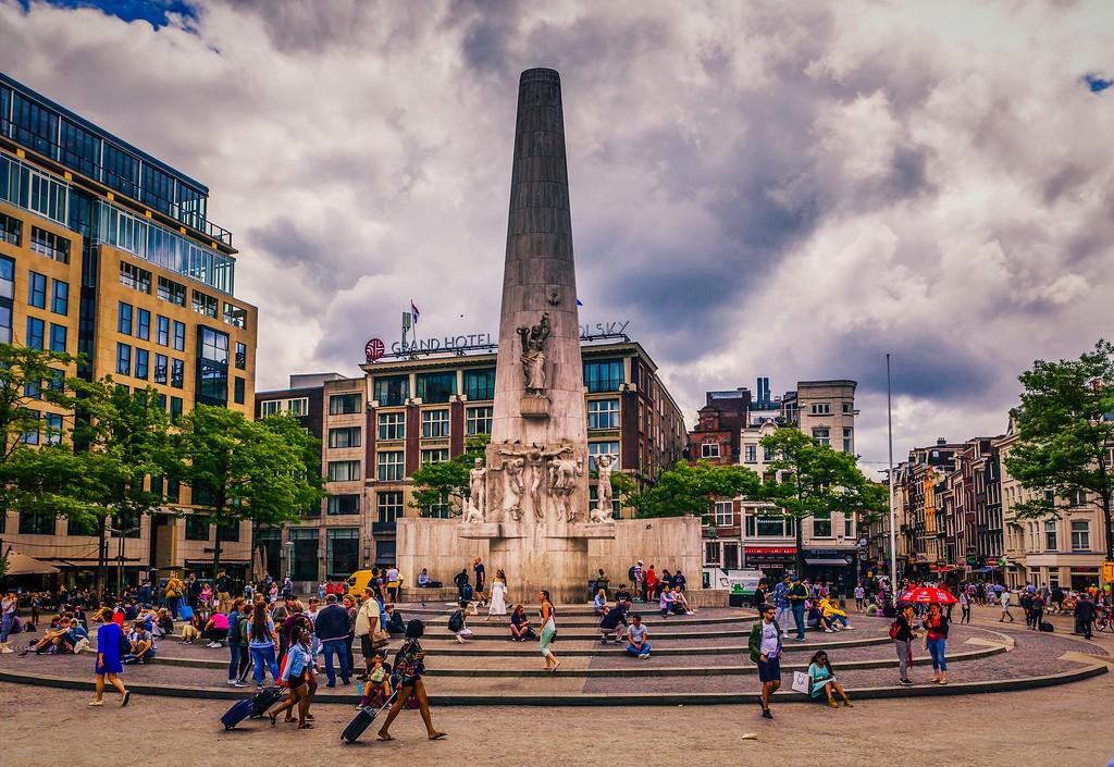 荷兰阿姆斯特丹,城市速写_图1-18