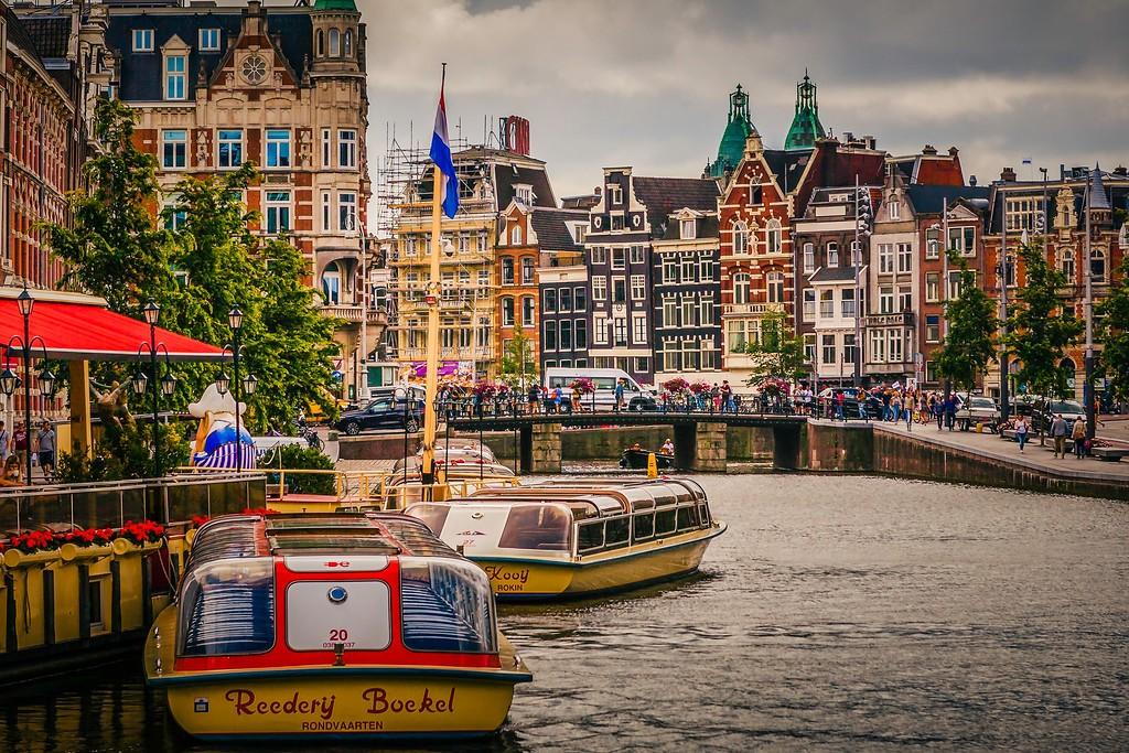 荷兰阿姆斯特丹,城市速写_图1-20