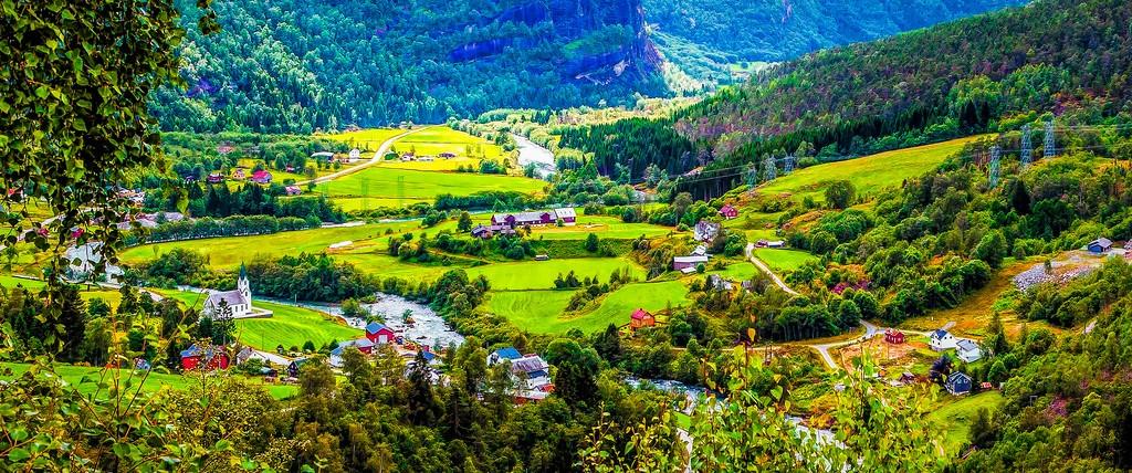 北欧风光,景色迷人_图1-1