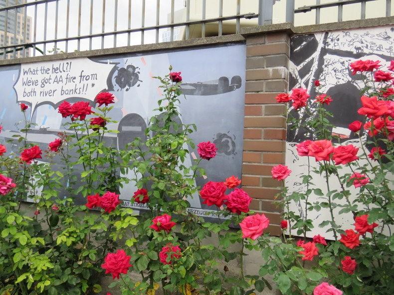 华沙起义博物馆的玫瑰园_图1-8