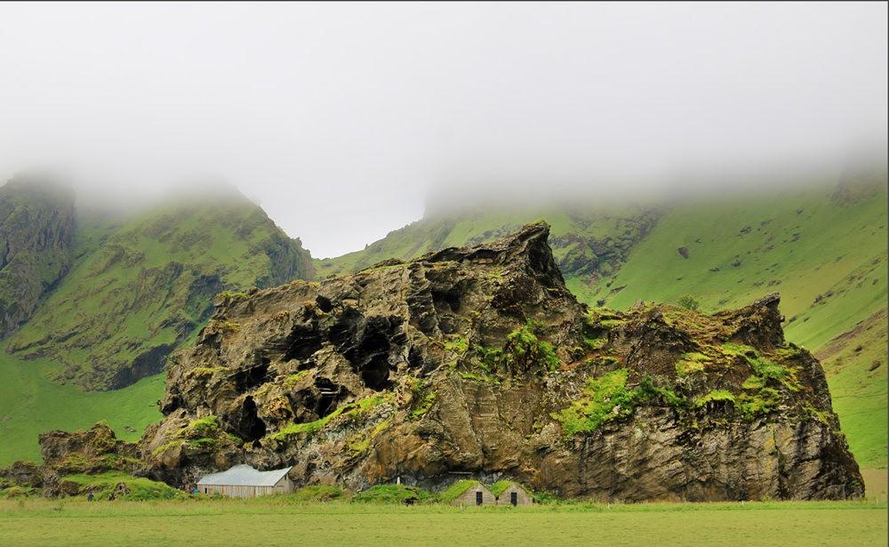 冰岛的两条瀑布与黑海滩_图1-8