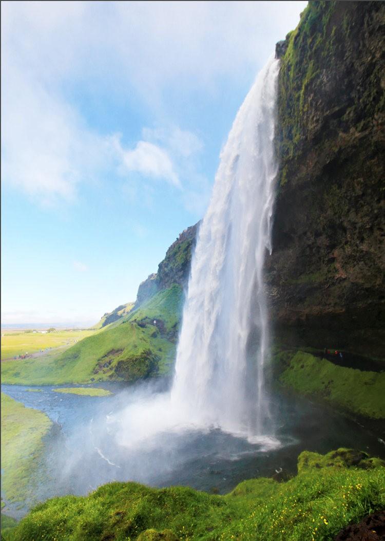 冰岛的两条瀑布与黑海滩_图1-13