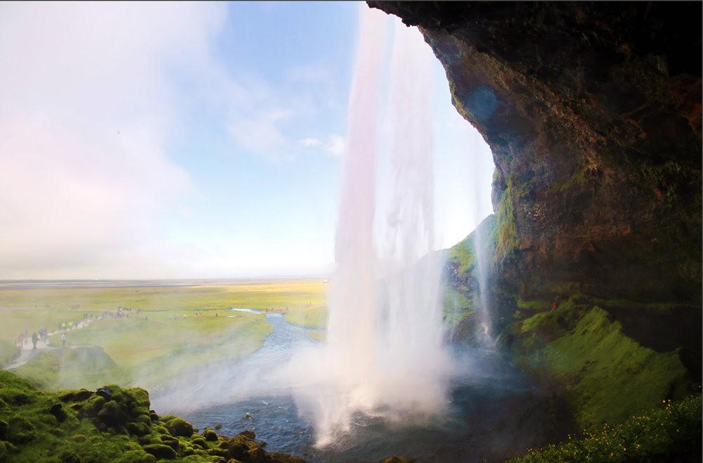 冰岛的两条瀑布与黑海滩_图1-14
