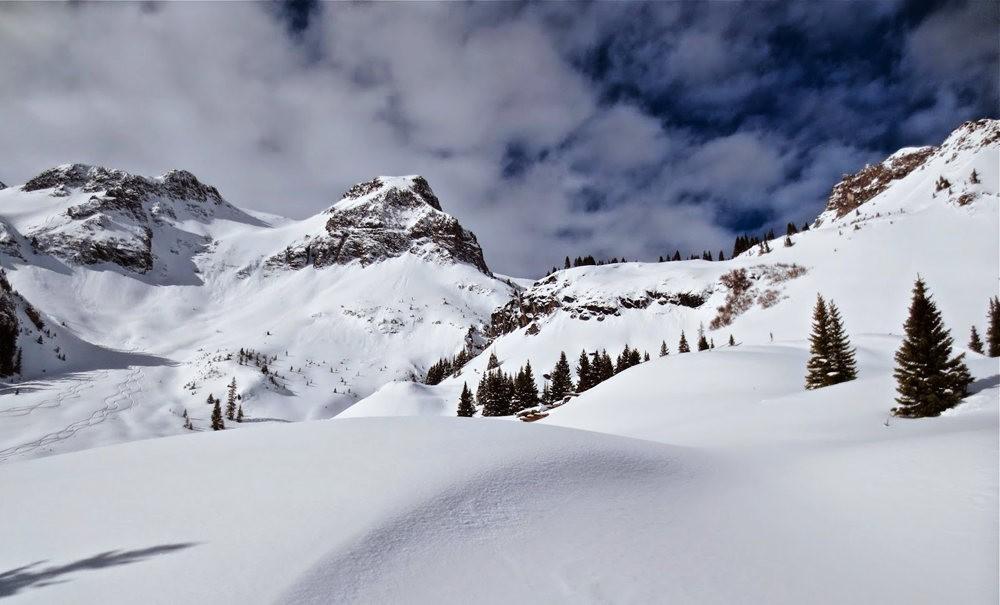 科罗拉多的林海雪原_图1-5