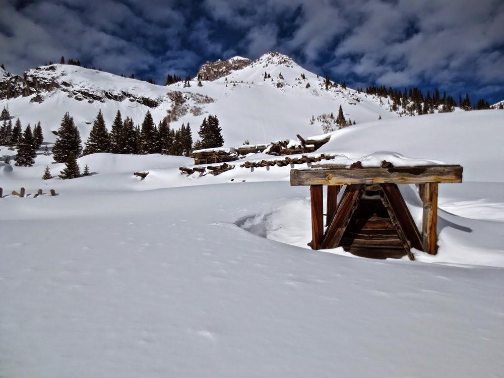 科罗拉多的林海雪原_图1-9