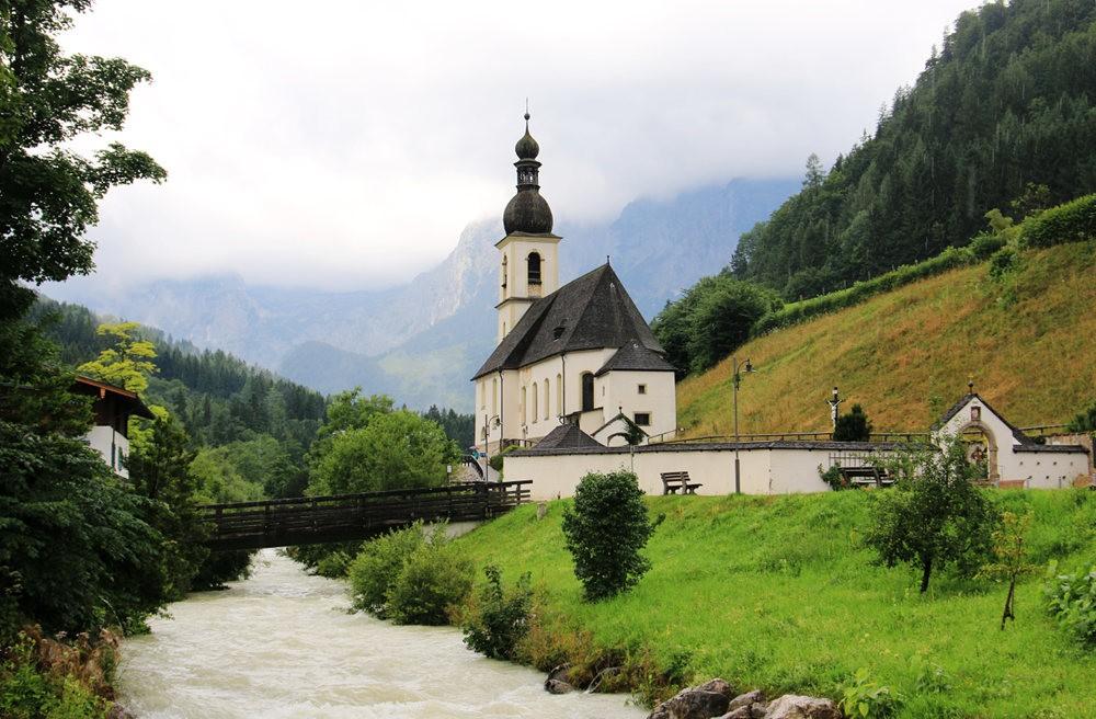 德国阿尔卑斯山的第一天_图1-1