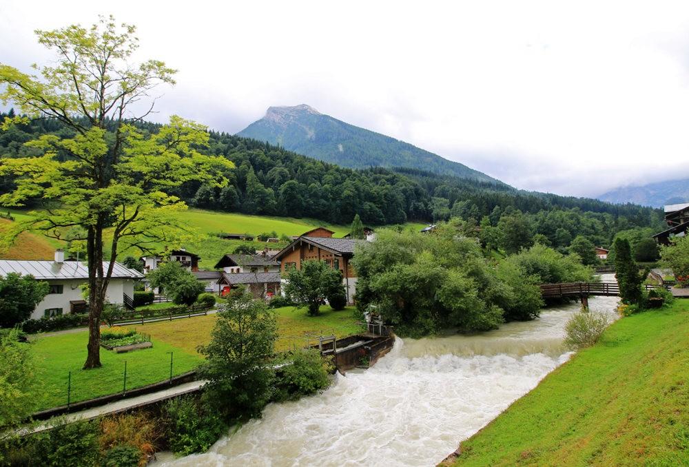 德国阿尔卑斯山的第一天_图1-2