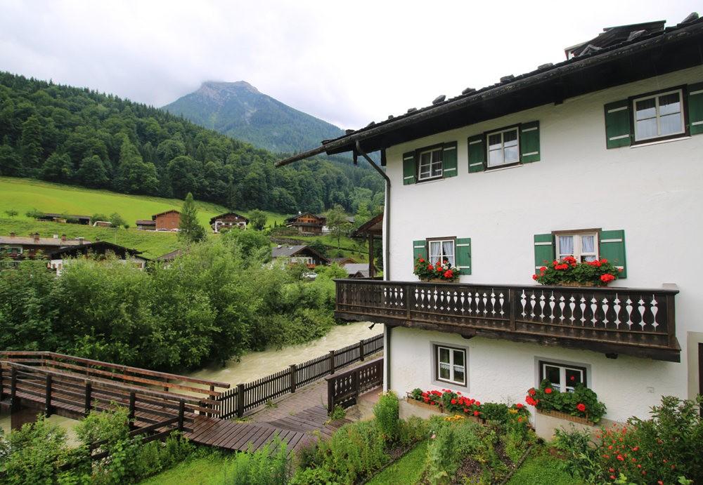 德国阿尔卑斯山的第一天_图1-4