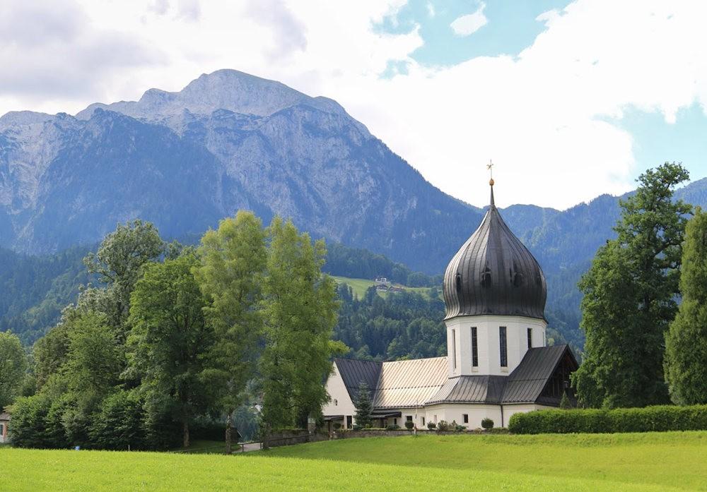德国阿尔卑斯山的第三天_图1-2